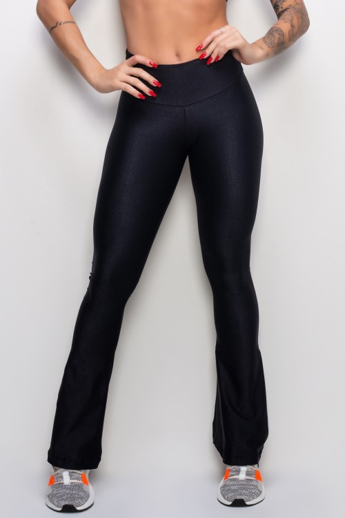 Calça Flare Essence black