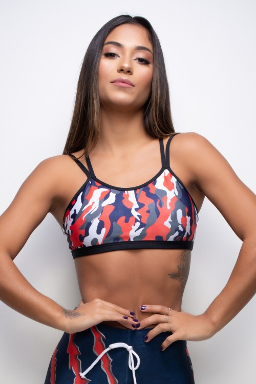 Top Fitness Sublimado Panthera Camouflage