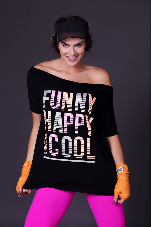 Blusa Funny, Happy and Cool