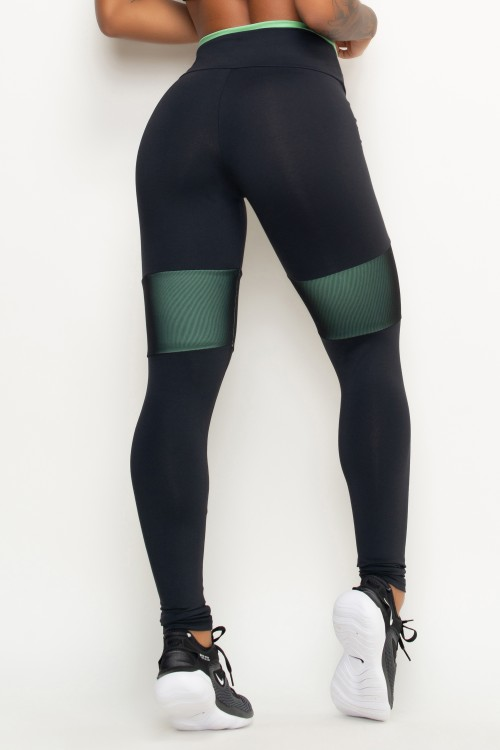 Calça Legging Fitness Breathe and Run