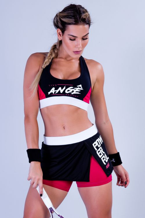 Short Saia Fitness Feminino Powerful