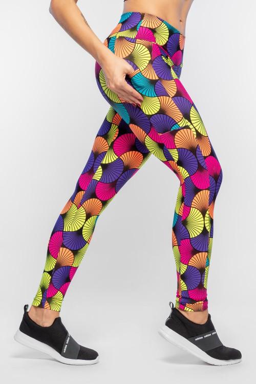 b19d82876 Calça Legging Feminina Estampada com Bolso Psyfit