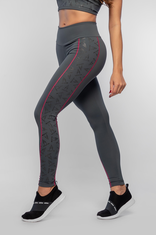 3390572ab5d14 Calça Legging Feminina Cinza Fit Evolution