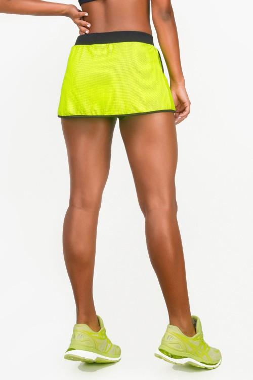f2a50334cf Short Saia Fitness Feminino Neon Black
