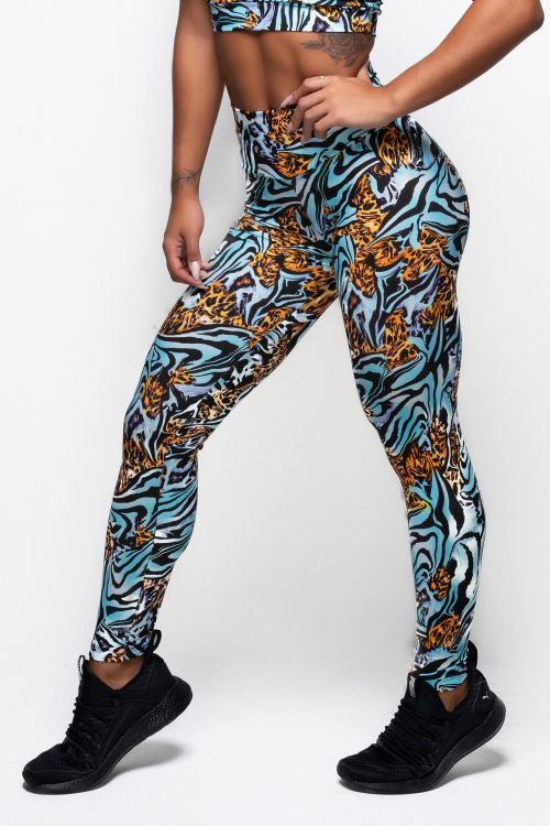 Calça Legging Feminina Estampada Higher