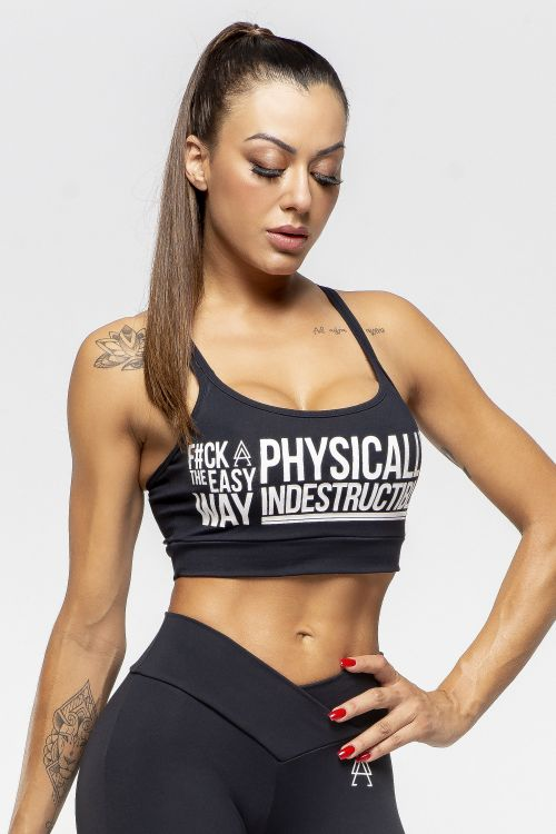 Top Fitness Feminino Preto Easy